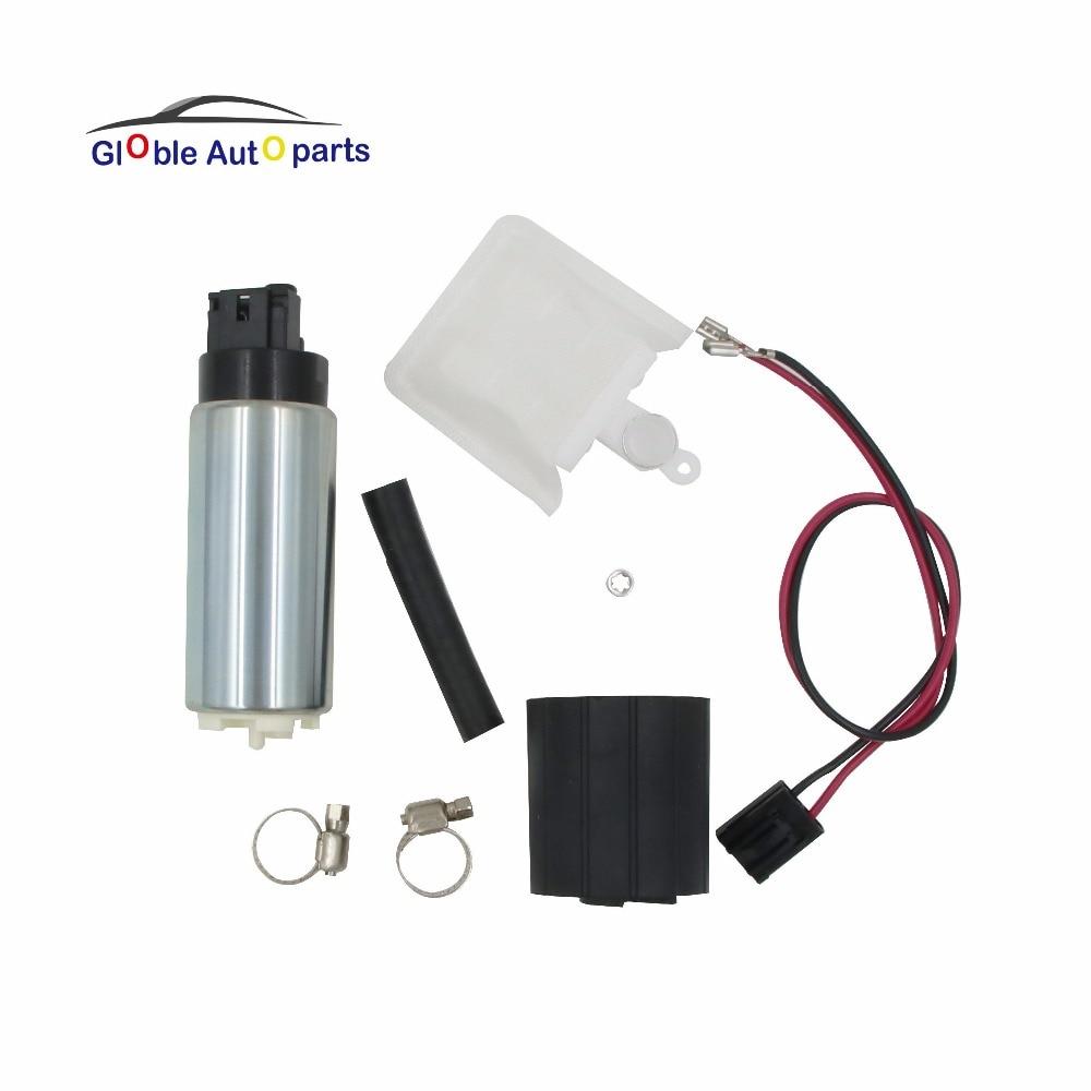 New Walbro High Performance 255 LPH Fuel Pump /& Installation Kit GSS342