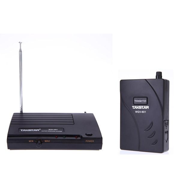 Takstar WGV 601 Electric Guitar Bass Wireless System Amplifier Audio Transmission Transmitter Receiver Kit