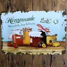 цена на Tin Signs  Metal Plate Wall Pub Kitchen Restaurant Home Art Decor Vintage Iron Poster Cuadros A81127