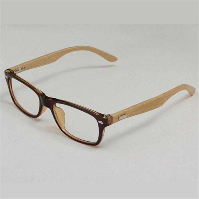 ⑥Ultra Light Natural Handmade Bamboo Wooden Eyeglasses Glasses ...
