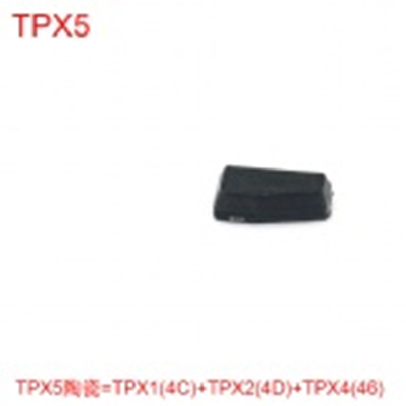 3 в 1 Ключи чип tpx5 Керамика транспондер чип = TPX1 (4c) + TPX2 (4D) + TPX4 (46) (carben)