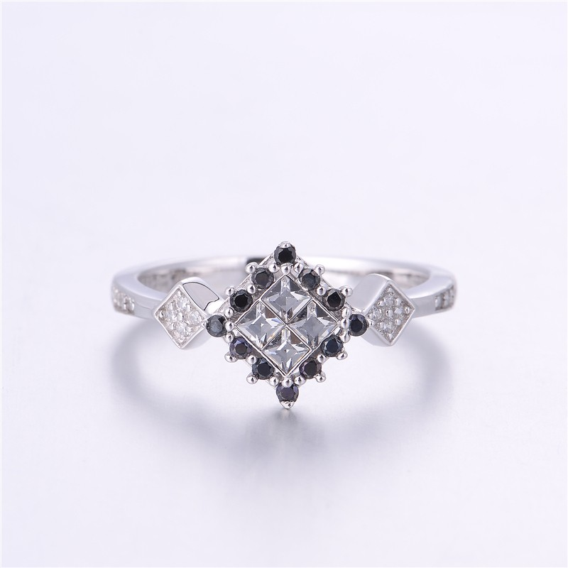 Wedding Rings Bague Femme Rings For Women 925 Sterling Silver Jewelry 925 Sterling Silver Ring Women Fashion Jewelry Accessories  (3)