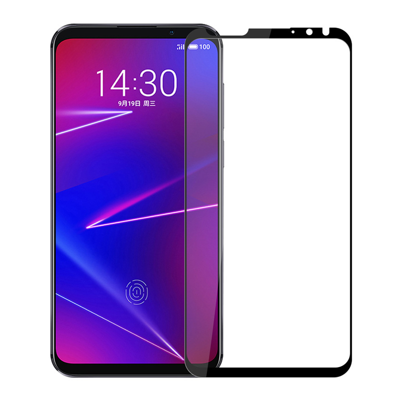 Full Cowl Tempered Glass For Meizu 16X Display Protector Protecting Movie For Meizu 16X Glass