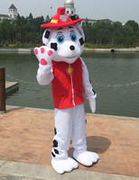White Dog Mascot Character Costume Dog Cosplay Outfits Adult Size