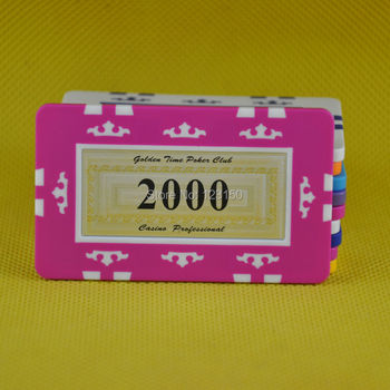 FM-010 Rectangle poker chip, ABS material, Big Denominations, 6pcs/lot, Free shipping image