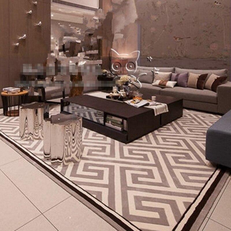 Nouveauté tapis et tapis en acrylique pour tapis de salon tapis de bain fait à la main
