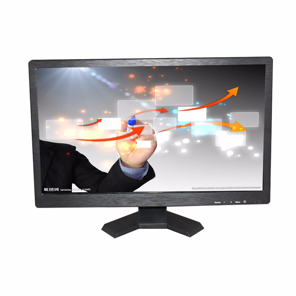 hot sale ! 21.5 inch 16:10 LCD WITH touch monitor  industrial  screen monitor   with VGA/USB/HDMI/AV/BNC IPS screen