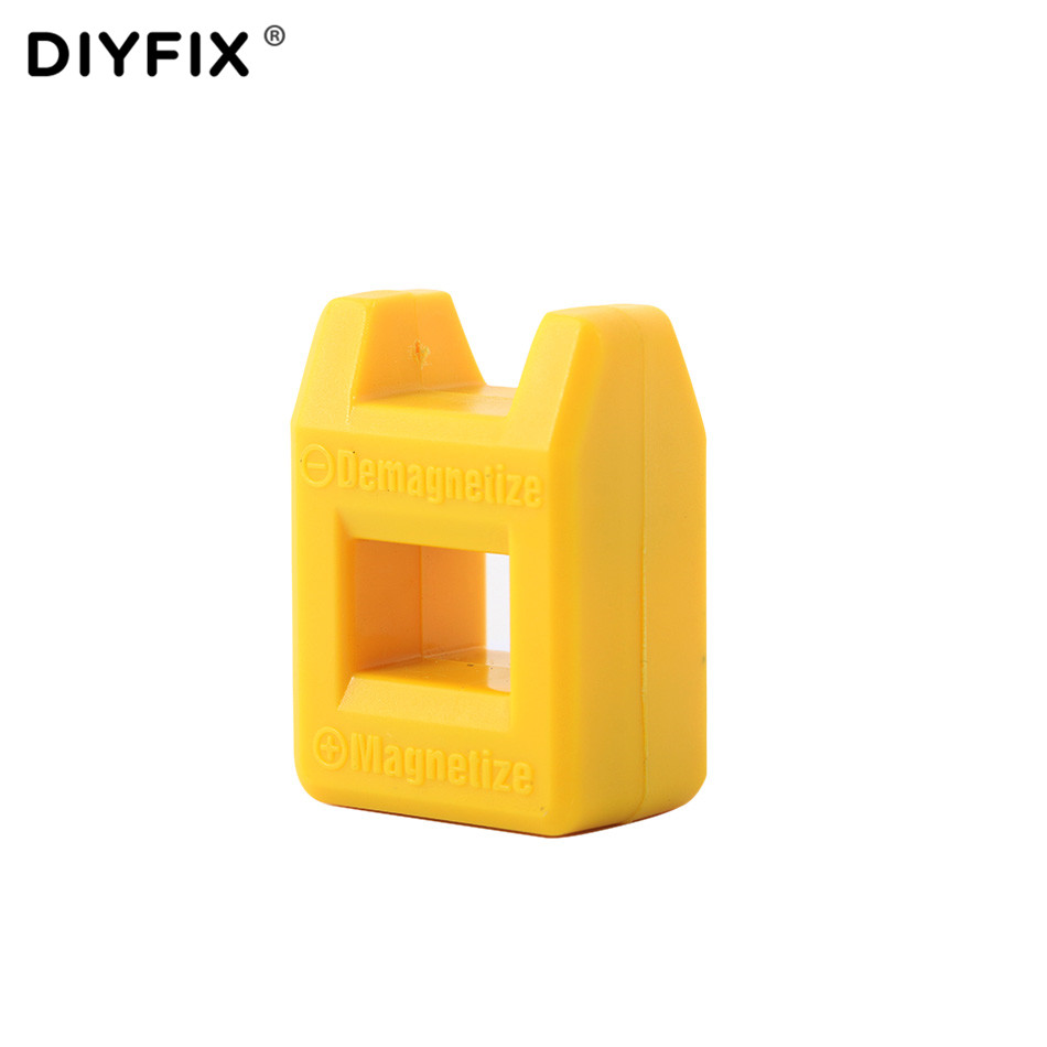 DIYFIX Mini Magnetizer and Demagnetizer Magnetic Pick Up Tool for Screwdriver Bits and Tips Hand Tool