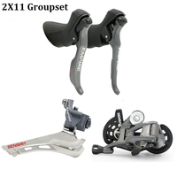 SENSAH Road Bike 2x11 speed Shifter Lever Brake Bicycle Derailleur 11S Groupset Road Bicycle Group Compatible For Shimano Sram