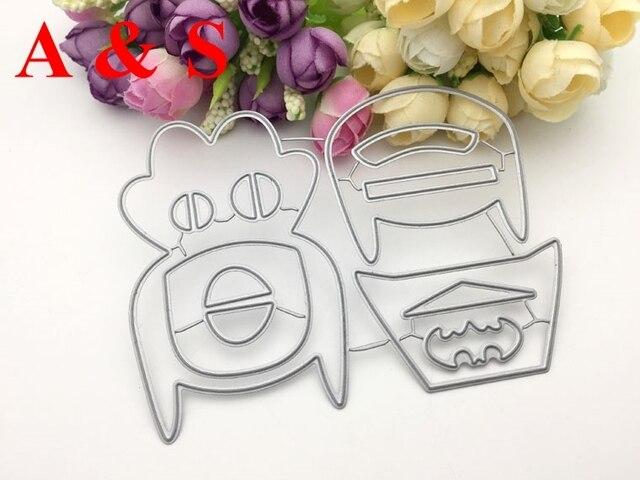 Q92 troqueles de corte rompecabezas lindo batman collage construir álbum de recortes tarjeta invitación papel artesanía fiesta decoración en relieve esténcil cortador