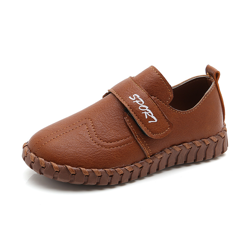 Kids Leather Shoes Toddler Boys Loafers Children Footwear Boy School Shoes Casual Fashion Kids Barefoot Shoes Boy Child Shoe