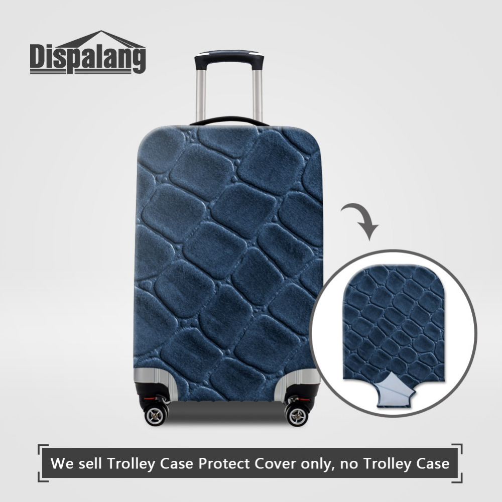 Dispalang Vintage Elastic Stretch Luggage Cover For 18-30 Inch Case Protect Suitcase Covers S/M/L 3D Printing Travel Accessories ...