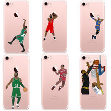 NBA Basketball Phone Case Curry Harden James Coque for iphone 5 5S SE 6 6S  Plus 69cc33509f2