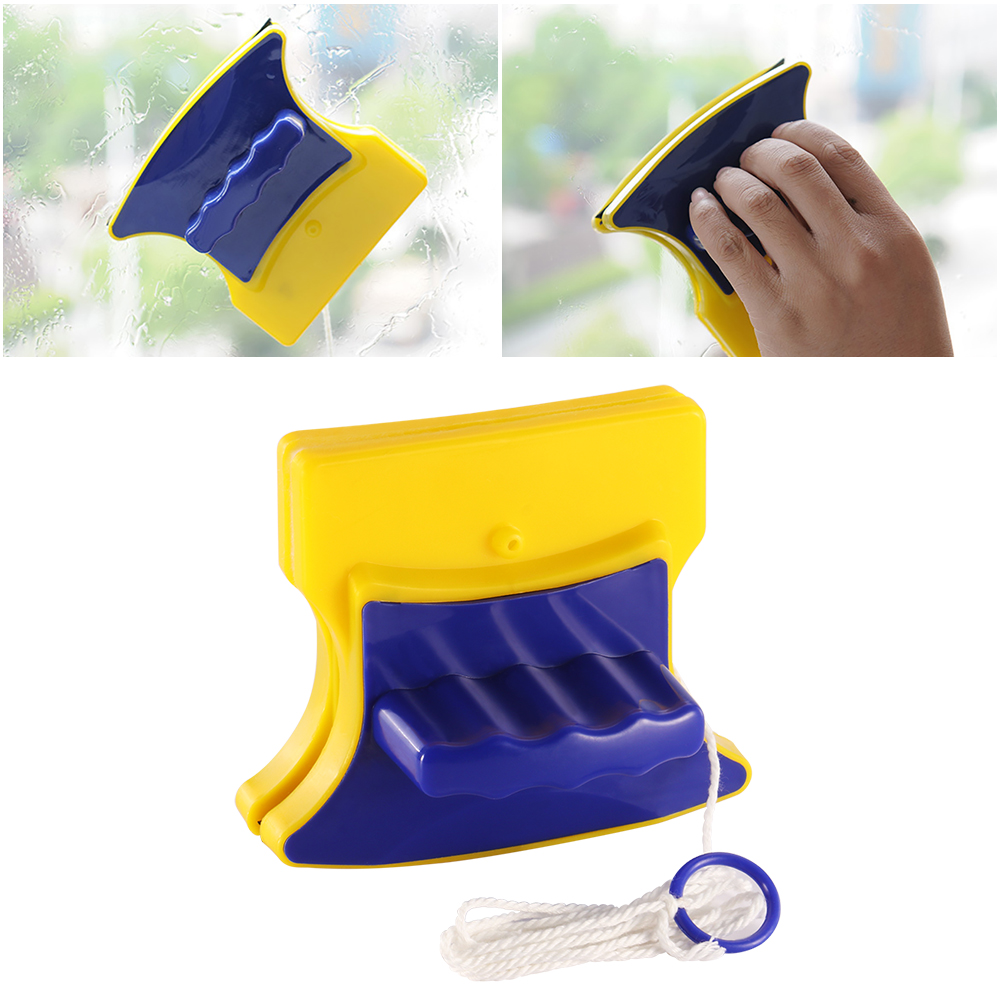 Durable Home Cleaning Window Magnetic Glass Brushes Tools Surface Cleaner Wiper Double Sided Glass Cleaner For Outside Inside