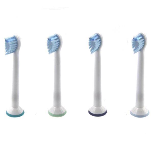 4pcs Replacement Toothbrush Heads for Philips for Sonicare Sensitive HX6084 Tooth Brushes Head Hygiene Care Clean цена