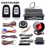 Easyguard PKE รถ alarm remote system เครื่องยนต์เริ่ม push ปุ่ม stop shock sensor คำเตือน auto ล็อคปลดล็อค
