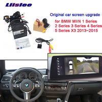 Car Screen Upgrade Display Update Rear Backup Camera Interface Kit for BMW MIIN 1 2 3 4Series 5Series X3 2013~2015 CCD the new