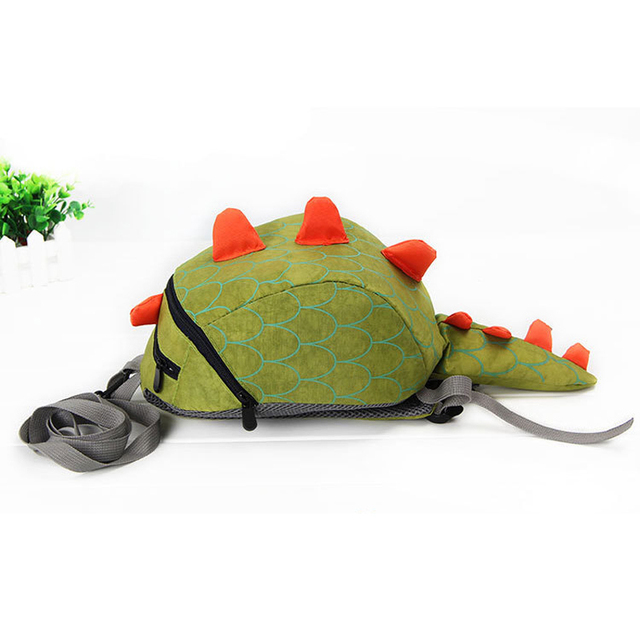 2018 Hot Sale Children Backpack aminals Kindergarten School bags for 1-4 years Dinosaur Anti lost backpack for kids