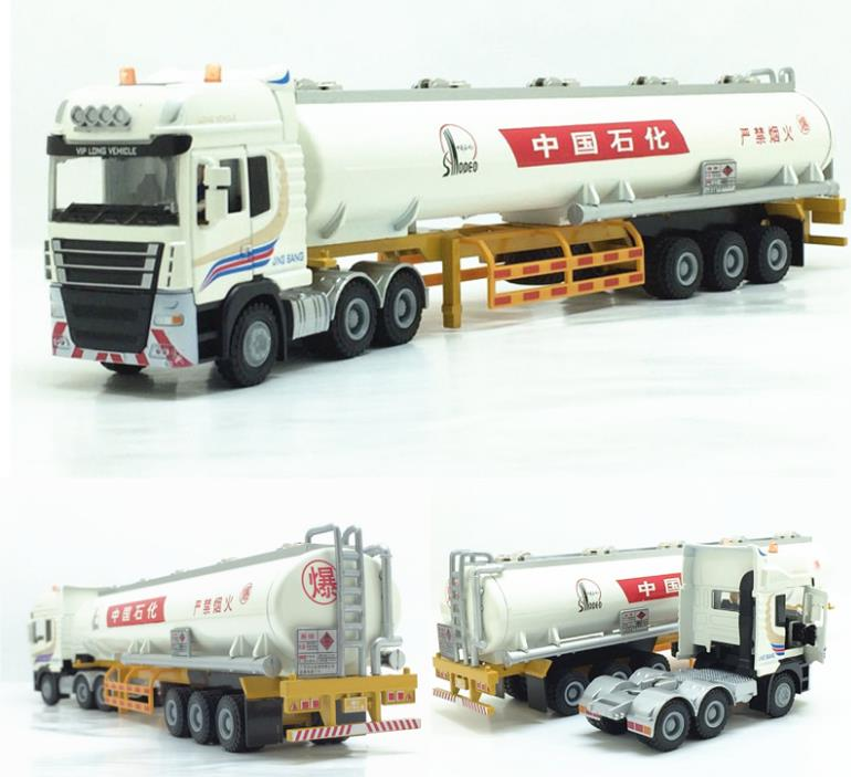 High simulation Sinopec Petroleum Engineering Truck model,1:50 alloy model toys,metal castings,toy vehicles,free shipping