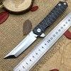 Kwaiken Ball Bearing Flipper Folding Knife Tactics Survival Knives Tanto D2 Blade Japan Razor Style Outdoor