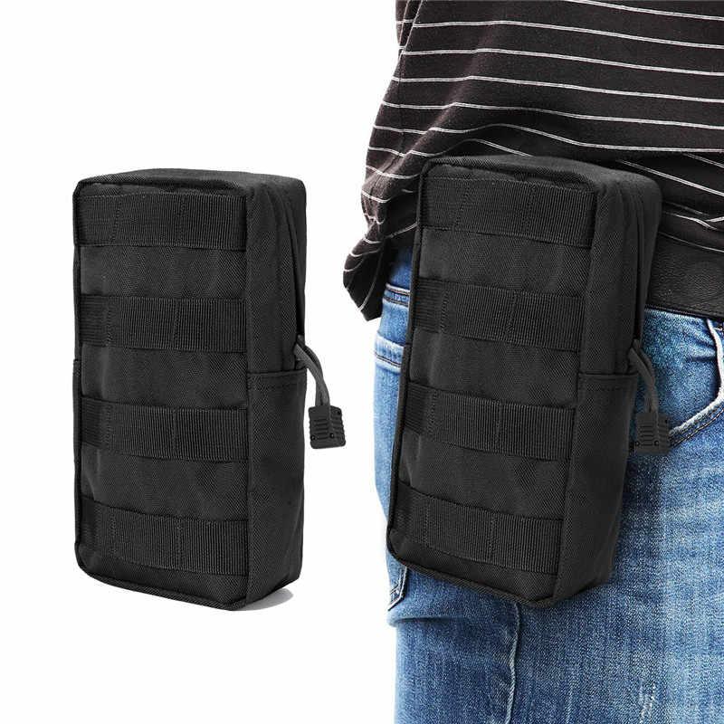 600D militar MOLLE Bag Bolsa DEZEMBRO Colete Utilitário Gadget Bag Equipamento de Caça Tático Pacote de Cintura Caminhadas Ao Ar Livre