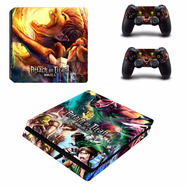 Anime Attack on Titan Skin Sticker For Sony PlayStation 4