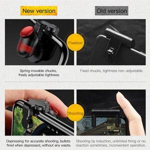 Image 3 - Baseus Gamepad Joystick Voor Pubg Gaming Trigger Smart Fire Knop Doel Trigger Key L1R1 Shooter Controller Voor Mobiele Telefoon Game