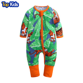 2019 spring Baby rompers Newborn Cotton Clothing Baby Long Sleeve Infant Boys Girls jumpsuit baby clothes boy MBR224 1