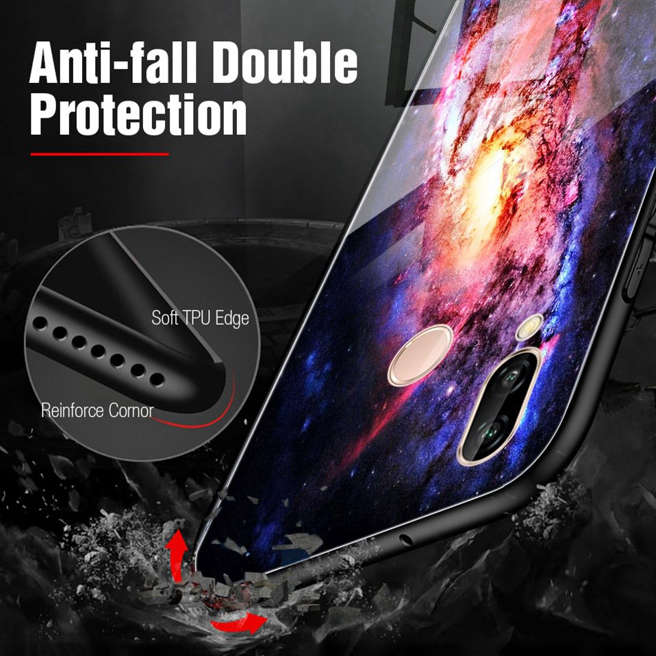 Glass Case For Huwei P20 Lite Nove 3 2i Silicone Anime Case For Huawei Honor Play 9 7A Mate 10 20 Lite P20 Pro P Smart Y6 2018   (6)