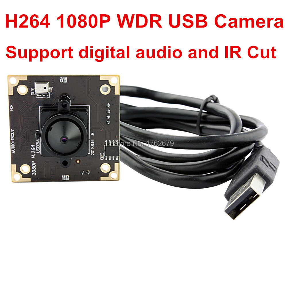 все цены на 3MP 2048X1536 HD 3.7mm lens USB2.0 1/3 Aptina AR0331 Color CMOS Sensor hd mini cctv WDR USB Camera module with digital audio