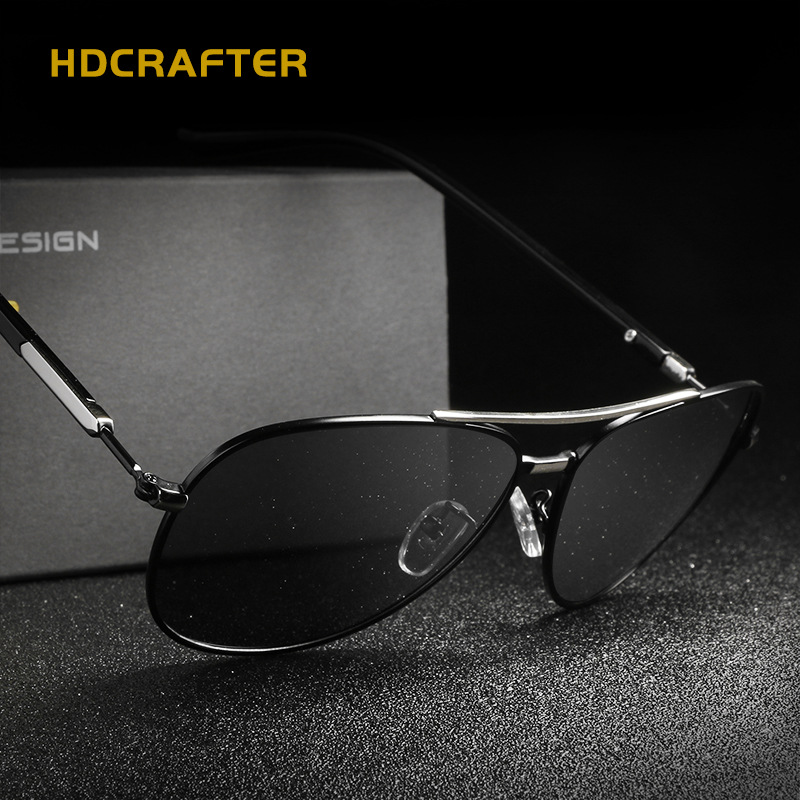 fd6d5ddb6c HDCRAFTER Oversized Retro Driving Anti glare Sunglasses Uv400 Hd Polarized  Sunglasses for Men Oversize Sun Glasses Big Frames-in Sunglasses from  Apparel ...