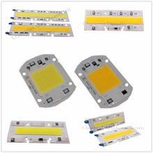 цена на 220V 20W 30W 50W 70W 100W LED Floodlight COB Chip, Integrated Smart IC Driver, Warm White cool white High power led chip