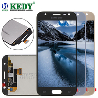 100 Original For Samsung Galaxy J3 2017 J330 J330F J3300 J3308 LCD Display With Touch Screen