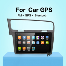 10.1″ Android 7.1 Car GPS Player for VW Golf 7 2013- with Quad Core 2GB No Dvd Multimedia Navigation Radio Headunit