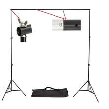 Ashanks Pro фотостудия фото фонов Рамка Fond Поддержка Системы 2 м x 2.4 м Подставки для фотосессии + сумка для переноски