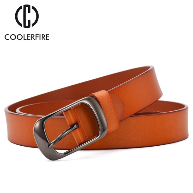 Casual Style Genuine Leather Belt For Women