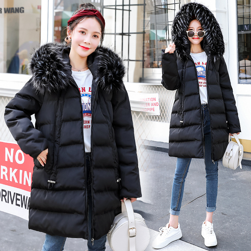 Hooded Winter Women Maternity Coat Thick Jacket 2XL Plus Pregnant Women's Down Jacket Pregnancy Clothes Winter Outerwear Parkas 2015 new hot winter cold warm woman down jacket coat parkas outerwear hooded loose luxury long plus size 2xxl splice cloak