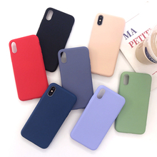 Luxury Soft Candy Color Matte Cases for iPhone