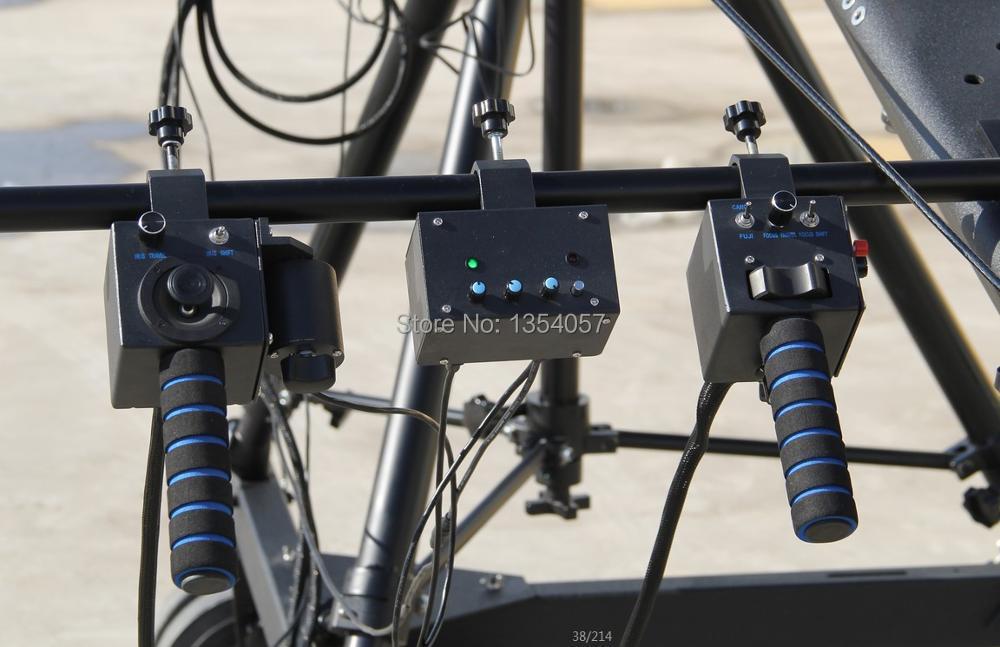 Uzaq 3 ox PTZ baş professional jimmy jib Video Kamera Kranı 8m - Kamera və foto - Fotoqrafiya 3