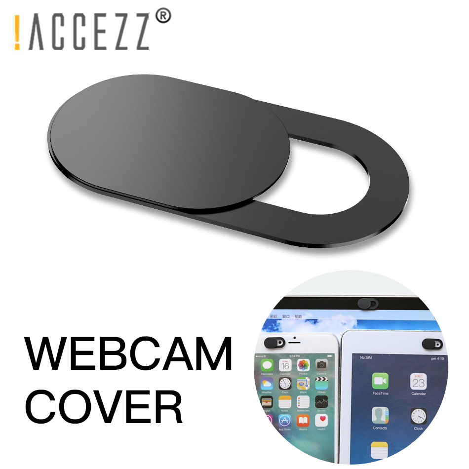 !ACCEZZ WebCam Cover Shutter Magnet Slider Plastic For iPhone Web Laptop PC For iPad Tablet Camera Mobile Phone Privacy Sticker 1