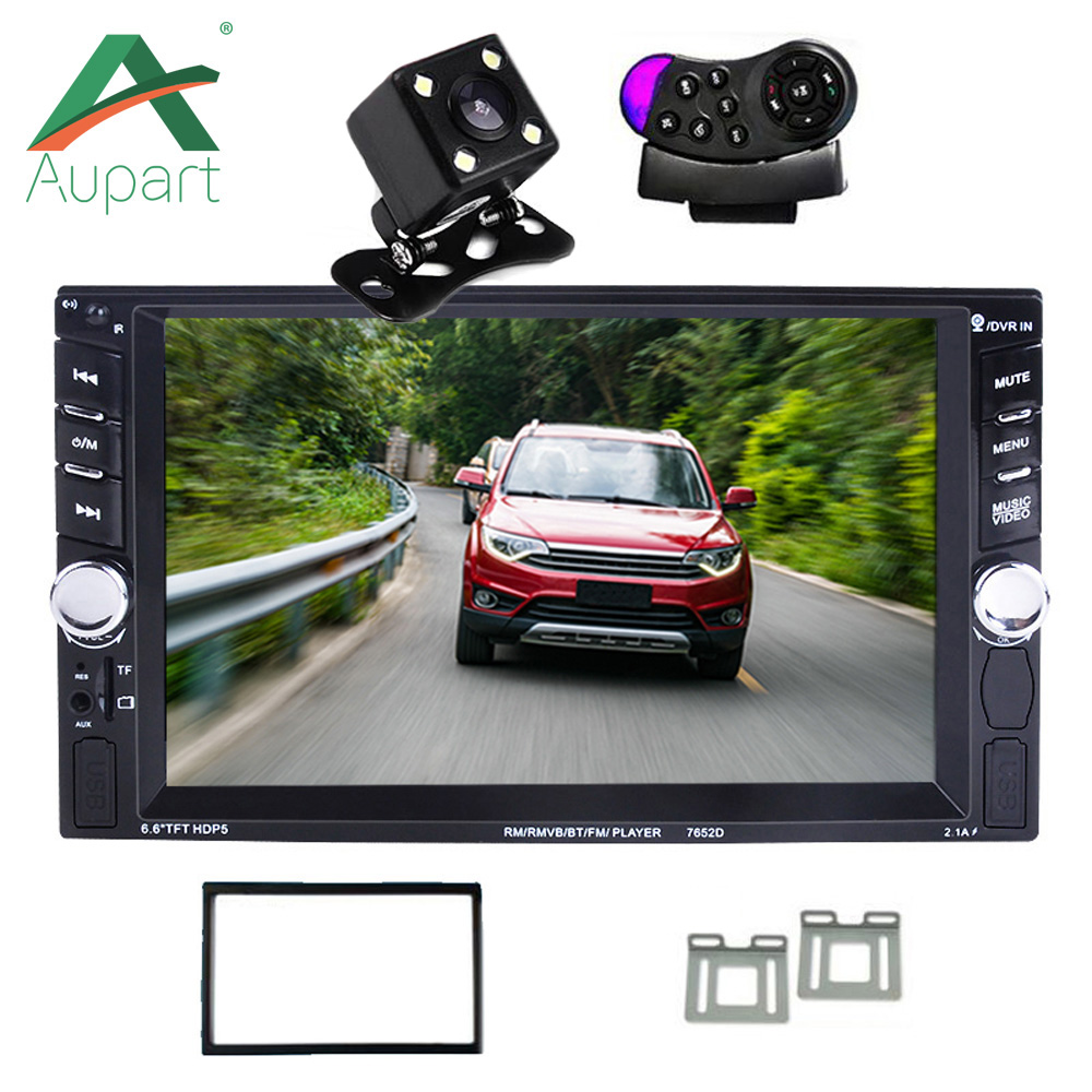 7 Inch Bluetooth TFT Touch Screen Car Audio Stereo MP4