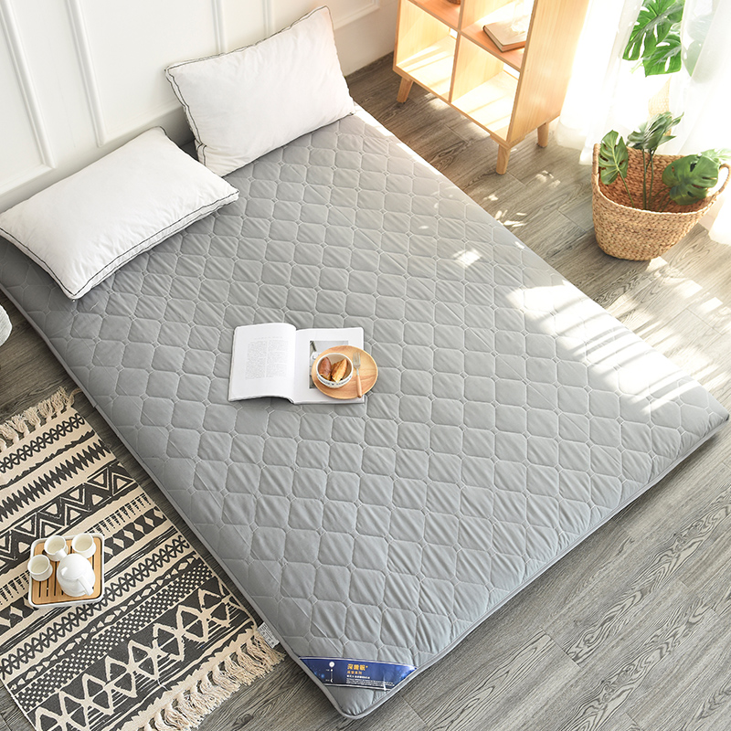 Infant Shining 3CM Tatami Mattress Pure Color Thickening Mattress Floor And Bed Mat Sanding Stereo Mattress Multi-size Bed Mat