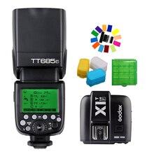 Godox TT685F 2.4G HSS TTL GN60 Flash Speedlite+ X1T-F Trigger Transmitter Kit for Fuji X-Pro1/X-Pro2/X-T10/X-T20/X-T1/X-T2