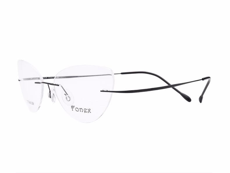 rimless women cat eye glasses silhouette fashion eyewear eyeglasses (11)