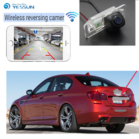 New Arrival! wireless connection car reversing HD camera for BMW 5 M5 E39 E60 E61 X5 E53 E70 X6 E7 Car wireless backup camera