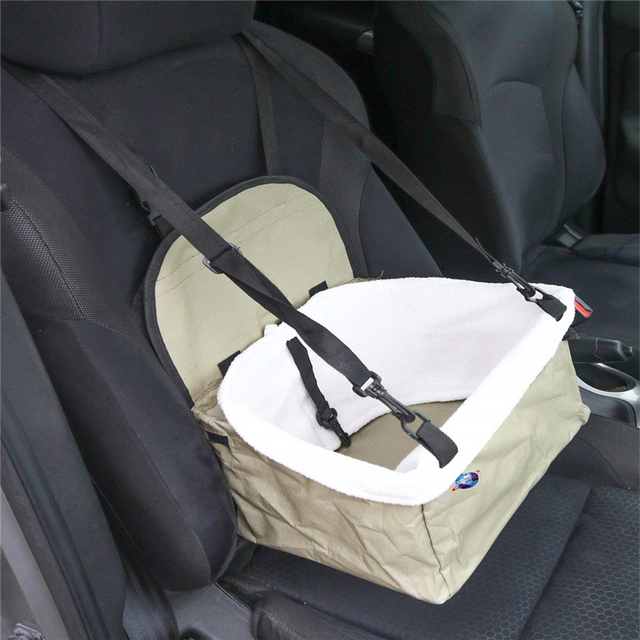 Travel Folding Soft Pet Dog Puppy Cat Kitty Car Seat Booster Seat Carrier Car Leash Bag Pet Supplies 4