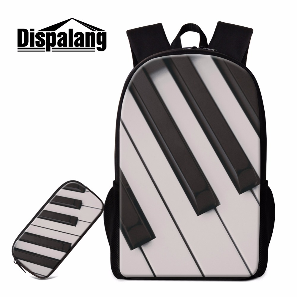MUOOUM Colorful Piano Key Large Duffle Bags Sports Gym Bag with Shoes Compartment for Men and Women