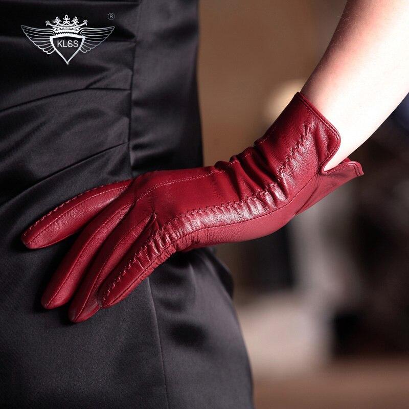 KLSS Brand Genuine Leather Women s