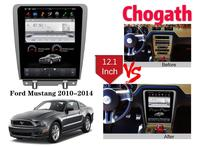 Chogath 12.1inch car multimedia player Android 7.0 Car Radio GPS Navigation Player for Ford Mastang 2009 2015 with Bluetooth