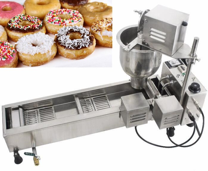 Hot Snack Dessert Machine Donut Ice Cream Krapfen Warmer Italy Gelato Panini Press Sandwich Maker